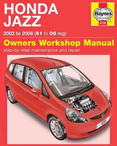 honda jazz repair manual free download