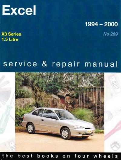 Hyundai Excel X3 Series 1994 2000 Gregorys Service Repair Manual