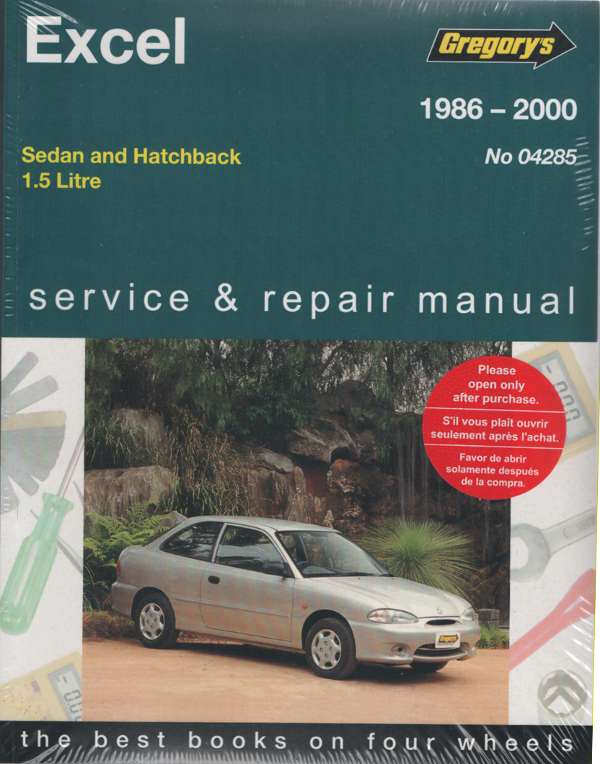hyundai excel 1986 2000 gregorys service repair manual sagin rh workshoprepairmanual com au Hyundai Santa Fe Repair Manual Hyundai 2002 Repair Manual