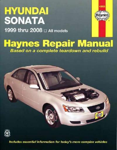 Hyundai Sonata 1999 2014 Haynes Service Repair Manual