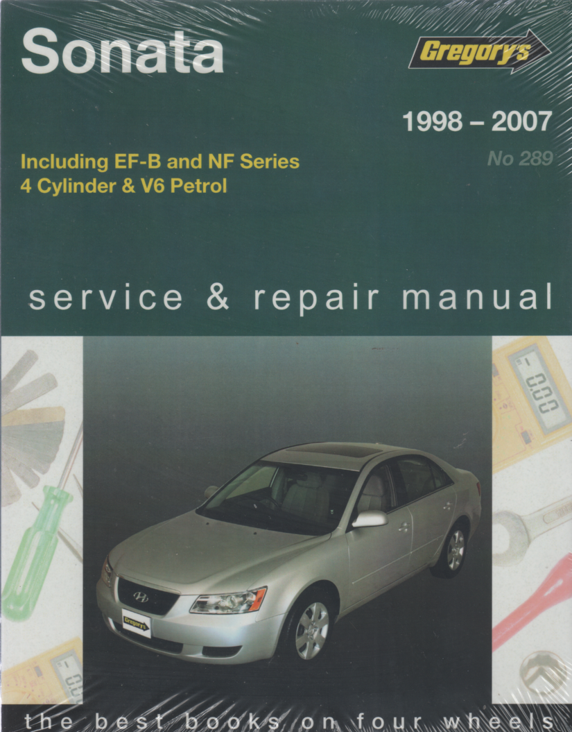 Hyundai Sonata 1998 2007 Gregorys Service Repair Manual