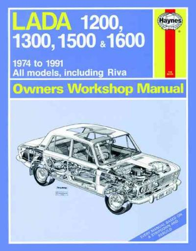 Lada 1200 1300 1500 1600 1974 1991 Haynes Service Repair Manual