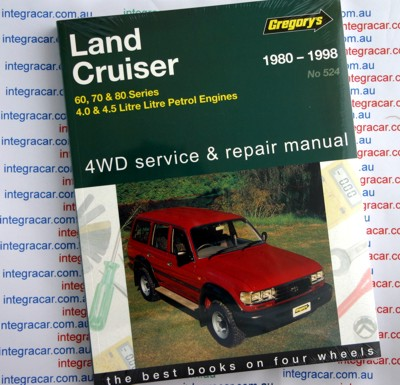 toyota landcruiser 60 70 and 80 series 1980 1998 petrol gregorys rh workshoprepairmanual com au gregorys workshop manuals free downloads gregorys workshop manuals free downloads