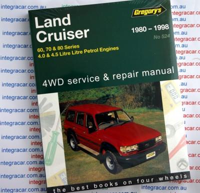 Service manual toyota land cruiser