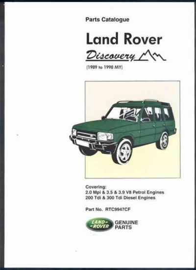 Land Rover Discovery Part Med on Haynes Land Rover Discovery Manual