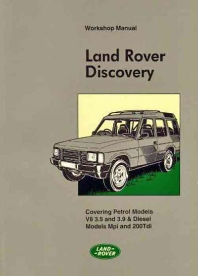 Land Rover Discovery 1990 1994 Workshop Manual Official Land Rover Publication   Brooklands Books Lt