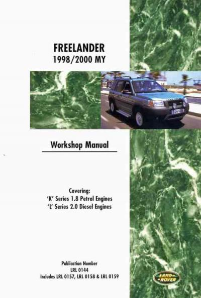 Land Rover Freelander 1998 2000 Service Repair Manual   Brooklands Books Ltd UK