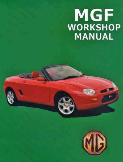 MGF 1995 on Service Repair Manual   Brooklands Books Ltd UK