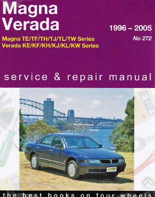 Mitsubishi Magna Verada V6 Te Tj Ke Kj 1996 2005 Sagin Workshop Car Manuals Repair Books Information Australia Integracar