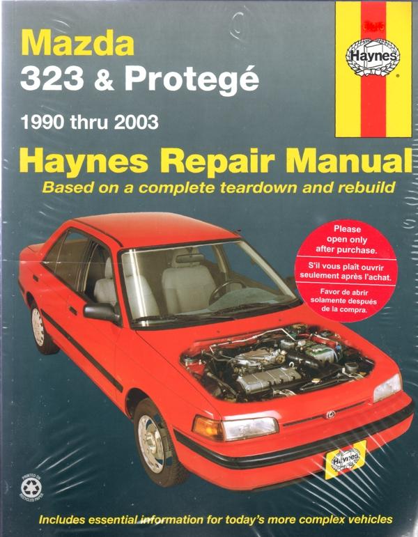 Mazda 323 Protege 1990 2003 Haynes Service Repair Manual
