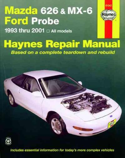 service manual repairing 1989 mazda mx 6 body damage. Black Bedroom Furniture Sets. Home Design Ideas