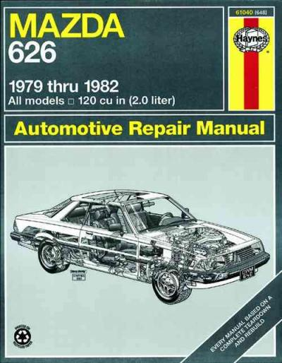 Mazda 626 RWD 1979 1982 Haynes Service Repair Manual