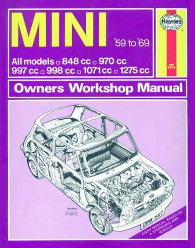 Mini 1959 1969 Haynes Service Repair Manual    UK