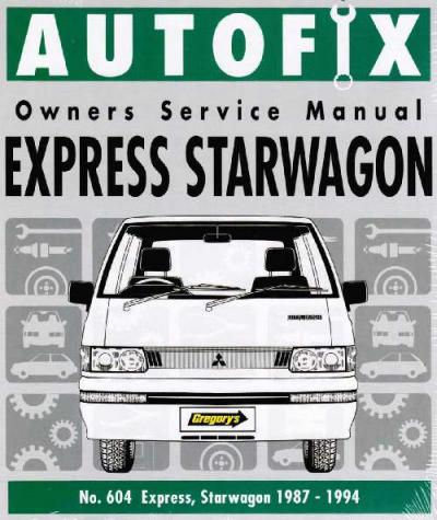mitsubishi starwagon van workshop manual how to and user guide rh taxibermuda co 1991 Mitsubishi Van Mitsubishi 16 Seater Van