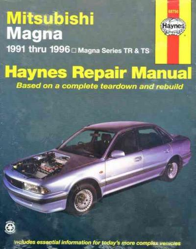 Mitsubishi Magna 1991 1996 Haynes Service Repair Manual