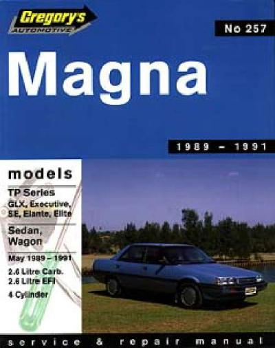 Mitsubishi Magna TP Series 1989 1991 Gregorys Service Repair Manual