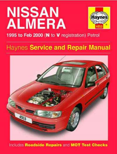 Nissan Almera 1995 2000 Haynes Service Repair Manual