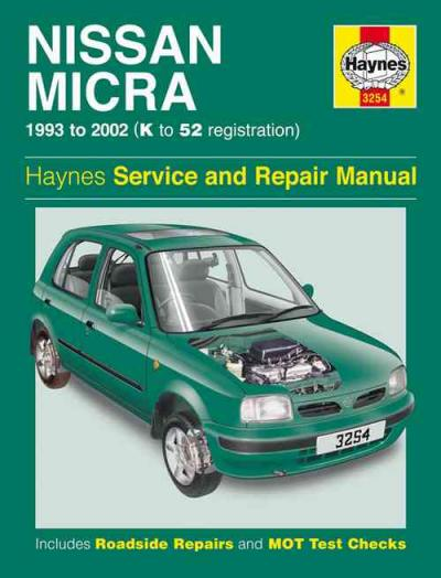 Nissan Micra 1993 2002 Haynes Service Repair Manual    UK