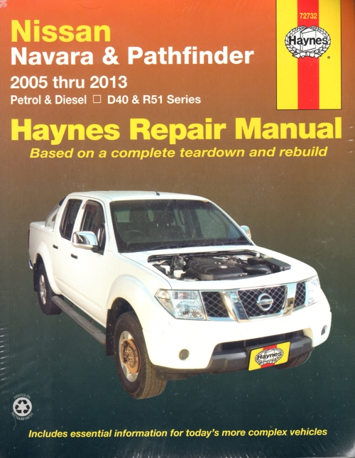 Nissan Navara Haynes Pathfinder Workshop Manual