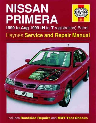 Nissan Primera Petrol 1990 1999 Haynes Service Repair