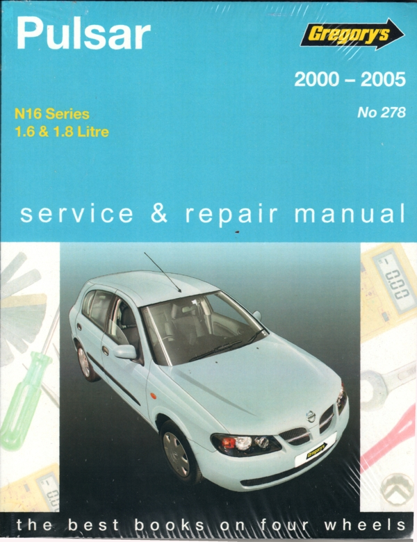 nissan pulsar n16 2000 2005 gregorys service repair manual sagin rh workshoprepairmanual com au nissan pulsar n16 manual nissan sunny n16 user manual