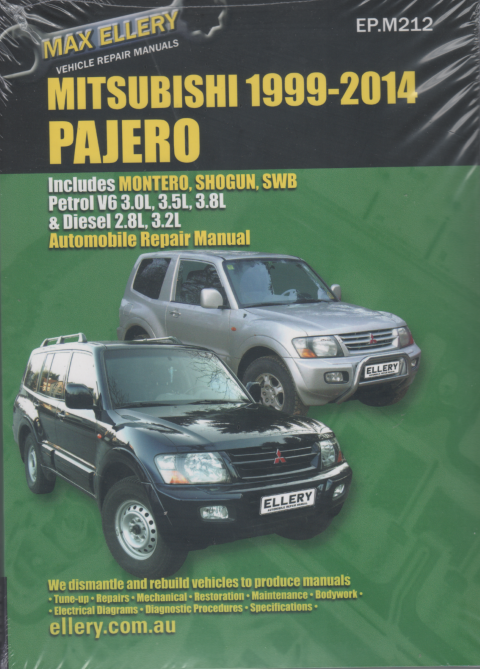 Mitsubishi Pajero 2000-2014  Petrol Diesel repair manual