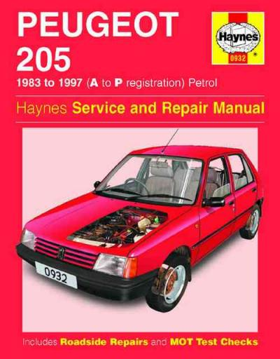 Peugeot 205 1983 1997 Haynes Service Repair Manual