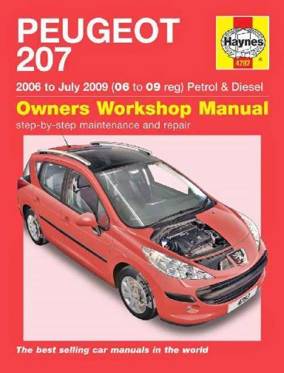 Download Peugeot 307 Haynes Service And Repair Manual Pdf
