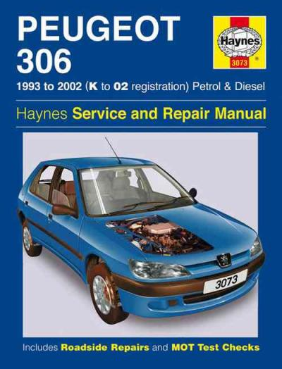 peugeot 306 petrol diesel 1993 2002 haynes service repair. Black Bedroom Furniture Sets. Home Design Ideas