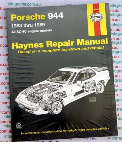 porsche 944 1983 1989 haynes service repair manual sagin. Black Bedroom Furniture Sets. Home Design Ideas