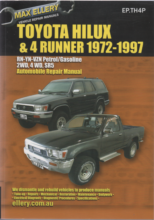 toyota hilux owners manual pdf