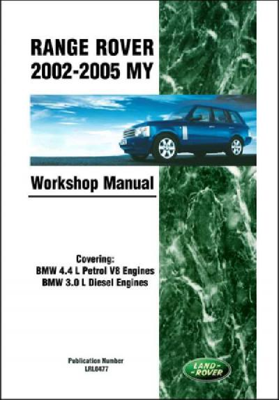 Range Rover 2002 2005 MY Workshop Manual   Brooklands Books Ltd UK