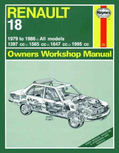 Renault 18 1979 1986 Haynes Service Repair Manual