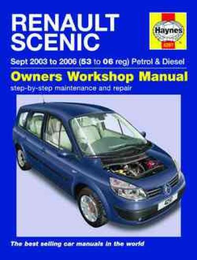 Renault Scenic Petrol Diesel 2003 2006 Haynes Service