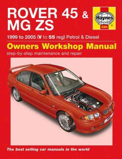 Rover 45 Mg Zs Petrol Diesel 1999 2005 Haynes Service