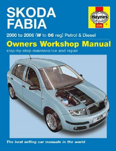 Skoda Fabia 2000 2006 Haynes Service Repair Manual