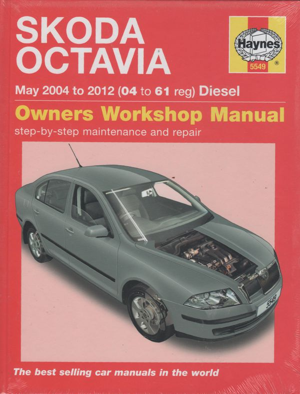 Skoda Octavia 2004-2012 Haynes Workshop Repair Manual