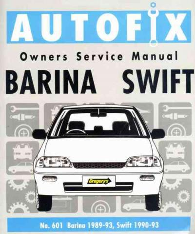 suzuki swift holden barina 1989 1993 autofix service manual sagin rh workshoprepairmanual com au Suzuki Swift 2013 2000 Suzuki Swift Engine