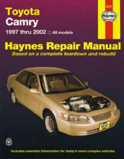 toyota camry 1997 2002 haynes service repair manual sagin workshop car manuals repair books. Black Bedroom Furniture Sets. Home Design Ideas