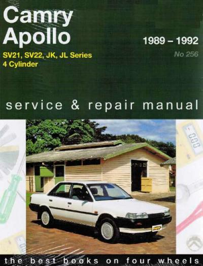Toyota Camry Holden Apollo 1989 1992 Gregorys Service Repair Manual