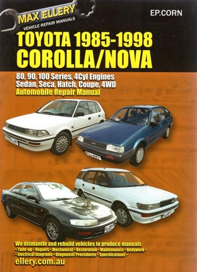toyota corolla 1985 1998 repair manual new sagin toyota corolla 1998 service manual pdf toyota corolla 1998 service manual free
