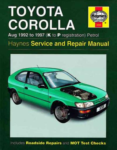 toyota corolla e11 haynes owners workshop manual toyota owners manuals free download toyota owners manual cover case