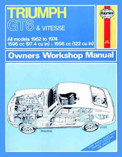 triumph sprint gt workshop manual