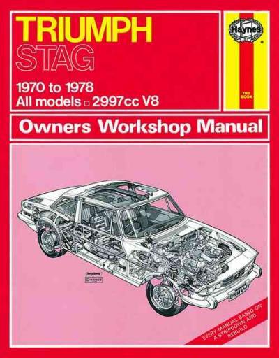 Triumph Stag 1970 1978 Haynes Service Repair Manual