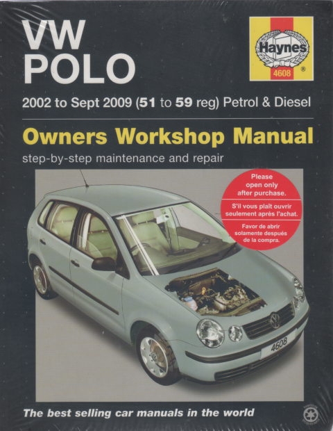 vw volkswagen polo petrol diesel 2002 2009 haynes service repair rh workshoprepairmanual com au Super Beetle Wiring Diagram 1972 VW Beetle Wiring Diagram