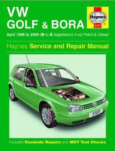 Vw Volkswagen Golf Bora Petrol Diesel 1998 2000 Uk