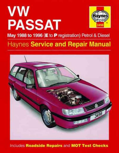 VW Volkswagen Passat Petrol Diesel 1988 1996 Haynes Service Repair Manual    UK