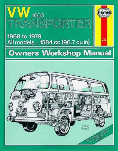 volkswagen vw transporter 1600 1968 1979 haynes service Volkswagen Transporter Camper Volkswagen Transporter Interior