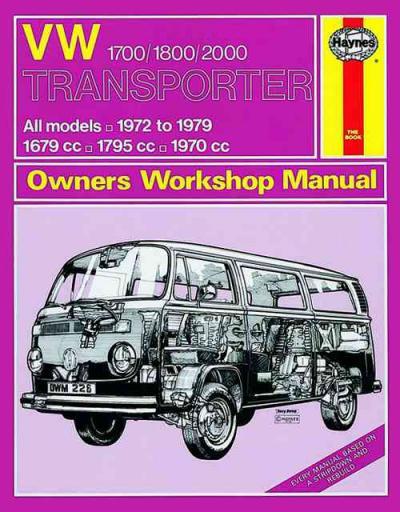 Volkswagen Vw Transporter 1700 1800 2000 1972 1979