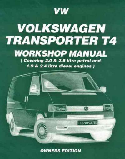 Volkswagen VW Transporter T4 Petrol Diesel 1990 1995   Brooklands Books Ltd UK